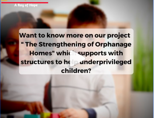 """Want to know more on our project  """" The Strengthening of Orphanage Homes"""" to support in creating a safer environment for the underprivileged  child and children with disabilities?"""