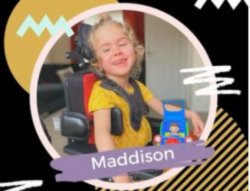 OUR BRAVE CHILD OF THE  WEEK; MADDISON
